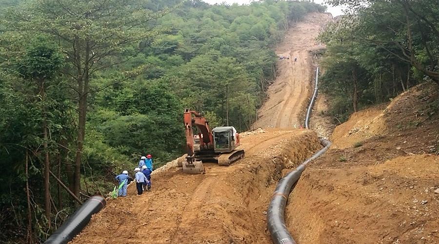 浙江省天然气开发有限公司上虞-新昌天然气管道工程