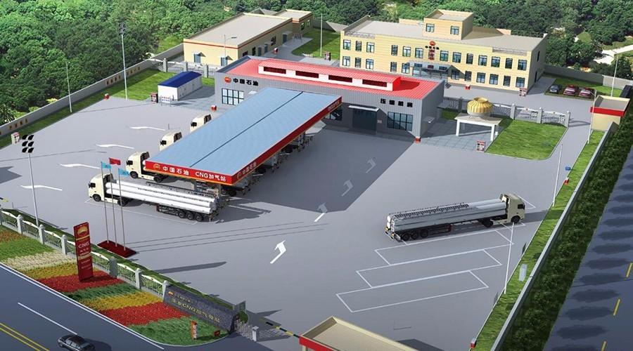 宁夏LNG加气母站工程